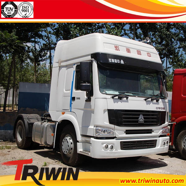 hoka zz4183n3611d1 4x2 diesel tractor truck 35t trailer. Black Bedroom Furniture Sets. Home Design Ideas